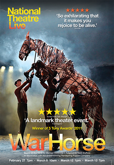 National Theatre Live: <br>War Horse