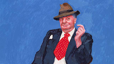 Exhibition On Screen 17/18 Season: David Hockney at the Royal Academy of Arts