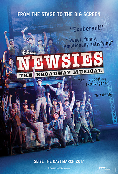 Image result for disney's newsies the broadway musical