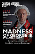 NT Live 2018 Fall Season: The Madness of George III