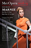 The Met Opera Live in HD 2018/19 Season: Marnie